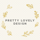 Pretty Lovely Design logo