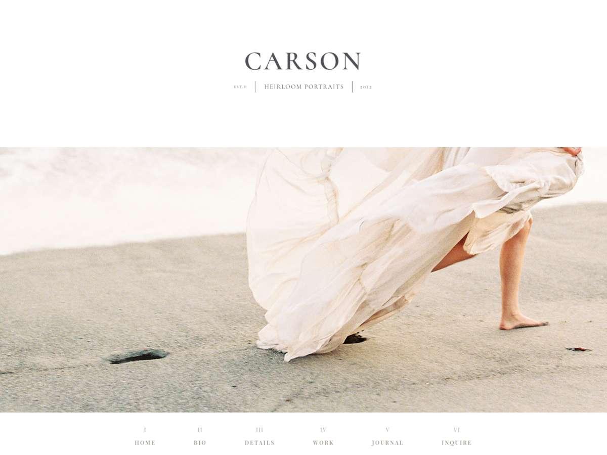 Carson screenshot