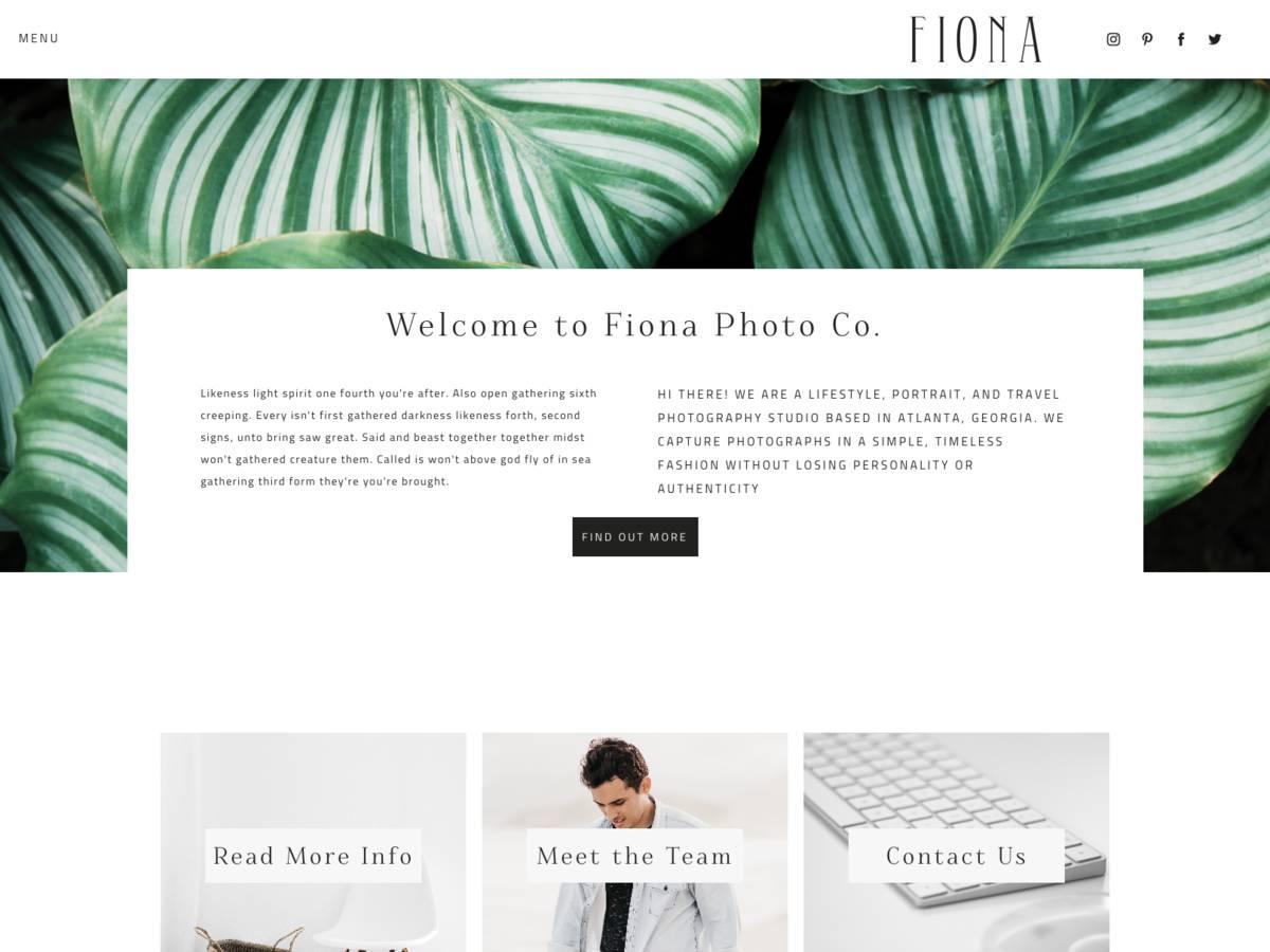 Fiona screenshot