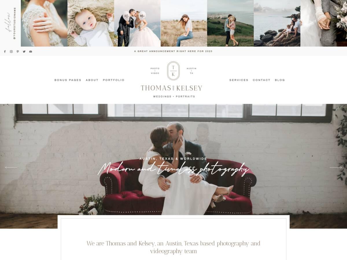 Husband & Wife Team Brand Collection screenshot