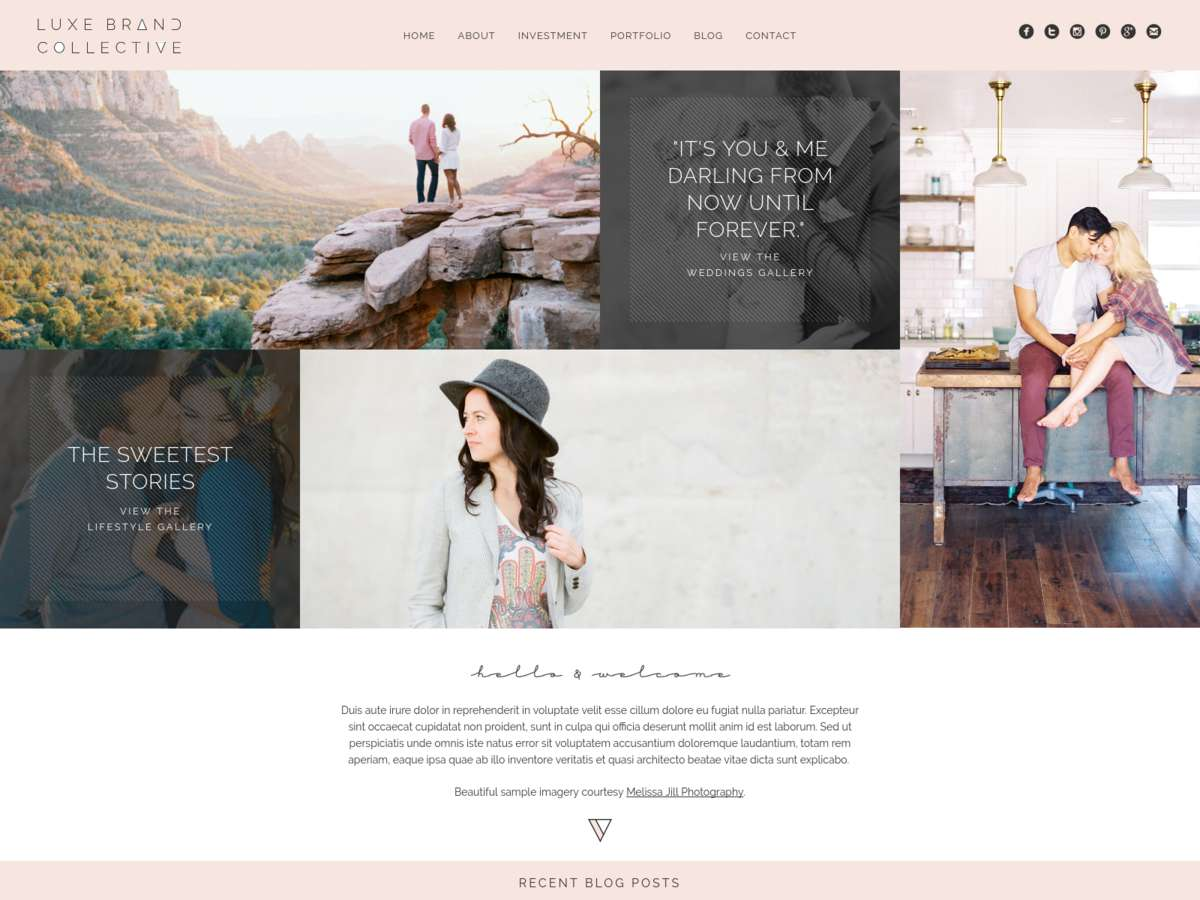 Luxe Brand Collective: No. 002 [Modern] screenshot