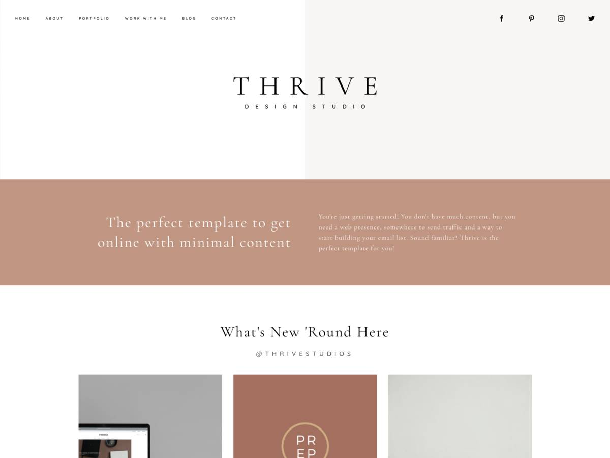 Thrive screenshot