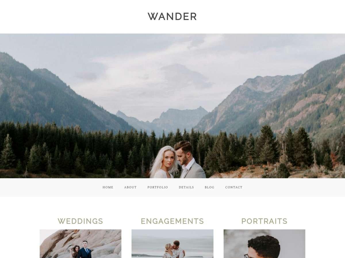 Wander screenshot
